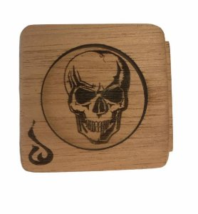 Wood Burning Pote de Cura Caveira