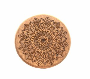 Wood Burning Dichavador Mandala