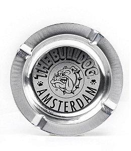 Cinzeiro de Metal The Bulldog Amsterdam Prata