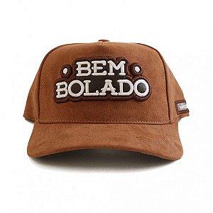 Boné Bem Bolado (brown) de Camurça