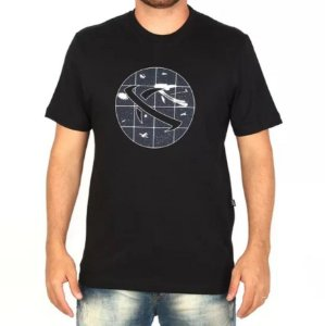 Camiseta LOST! Space Saturn Preta