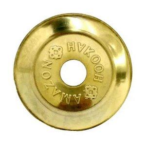 Prato Amazon Hookah Simples Dourado