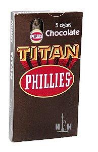 Charuto Titan Phillies Chocolate