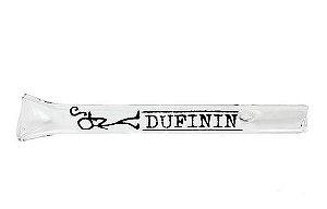Piteira de Vidro Dufinin - Híbrida 5cm - Logo Verde