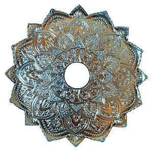 Prato Malik Hookah Grande Details Azul Claro
