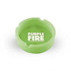 Cinzeiro Purple Fire Verde Brilha no Escuro
