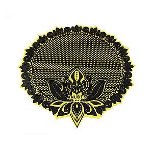 Tapete de Silicone Anubis Amarelo e Preto