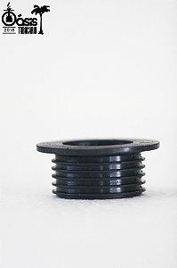 Borracha de vedação preta para base grande