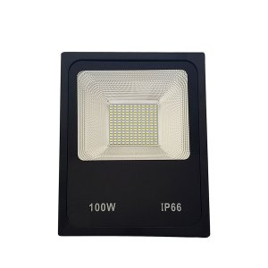 REFLETOR MICROLED SMD SLIM 100W VERDE