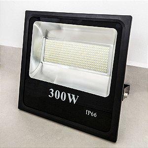 REFLETOR MICROLED SMD SLIM 300W BRANCO FRIO