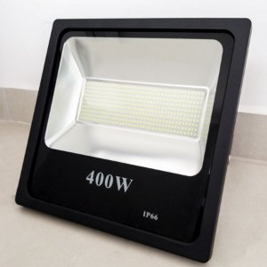 REFLETOR MICROLED SMD SLIM 400W BRANCO FRIO