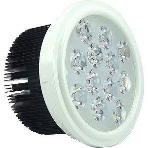 LÂMPADA LED AR111 12W BRANCO QUENTE COM DRIVER