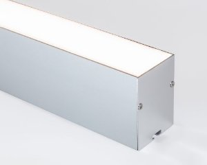 Perfil alumínio pendente hyper difusor leitoso para LED