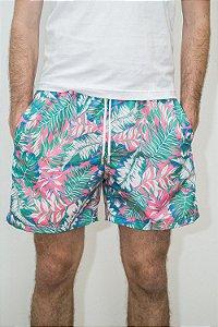 Bermuda Verão Folhagens