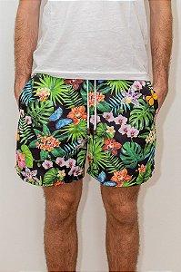 Shorts de Verão Tropical