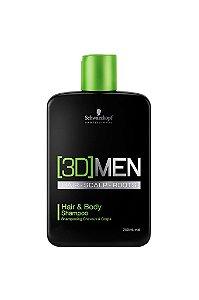 Shampoo Cabelo e Corpo [3D]Mension 250ml