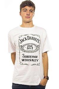 Camiseta Jack Daniels Branca