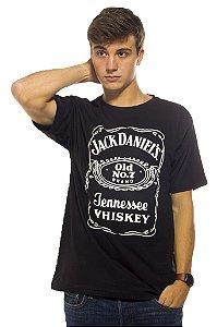 Camiseta Jack Daniels Preta