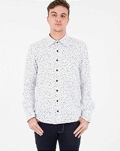 Camisa Pássaros Branca