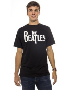 Camiseta Preta The Beatles