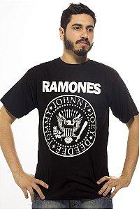 Camiseta Preta Ramones