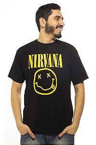 Camiseta Preta Nirvana