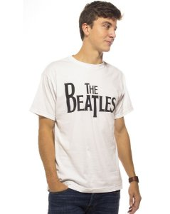 Camiseta Branca The Beatles