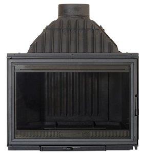 Lareira a Lenha Calefator - Diffusion - C6 em ferro fundido Made in France