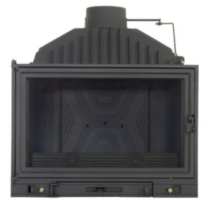 Lareira a Lenha Calefator - Diffusion - B6 em ferro fundido/Made in France