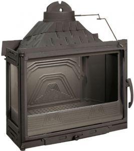 Lareira a Lenha Calefator - Diffusion - B7 em ferro fundido / 02 vidros / Made in France