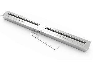 Lareira Modular a Álcool ou Etanol ARTFIRE 120cm - Modelo 2slim60