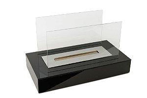 Mobile Artfire - modelo Glass Mobile Retangular - cor preto.