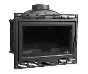 Lareira a Lenha Calefator e Recuperador - Bronpi - LUGO - em ferro fundido / Made in Spain.