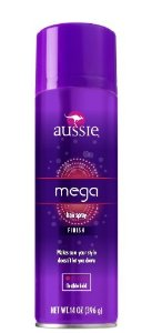 Fixador Aussie Mega Hairspray Finish