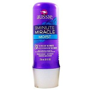 Aussie Máscara 3 Minute Moist Miracle