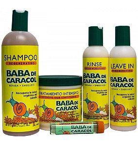 Baba de Caracol  - Kit com Bolsa Grátis