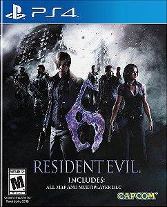 Resident Evil 6 – PS4