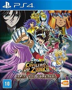 Os Cavaleiros do Zodíaco: Alma dos Soldados + Chaveiro + Luva - PS4