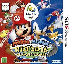 Mario & Sonic at the Rio 2016 Olympic Games (3DS) + Pelúcia Oficial
