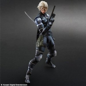 Metal Gear Solid 2: Raiden – Play Arts Kai