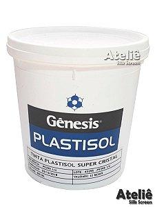 TINTA PLASTISOL SUPER CRISTAL - 1 KG
