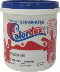 Tinta Metalcolor Ouro - Colordex - 900ml