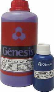 Emulsão Gênesis Serifoto Roxa Base Solvente + Sensibilizante