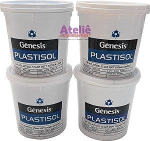 TINTA PLASTISOL STAMP CROMIA CORES GÊNESIS