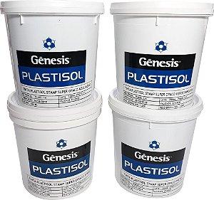 Tinta Plastisol  Super Opaco  Cores - Gênesis