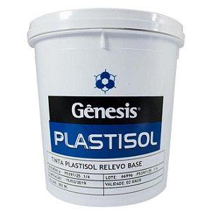 Tinta Plastisol Relevo Base Cinza - Gênesis - 900ml