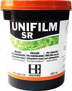 Emulsão Unifilm SR - Pré Sensibilizada 900 ml