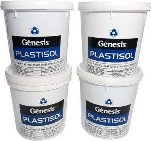 Tinta Plastisol Stamp Super Opaco - Cores