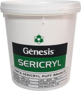 Tinta Sericryl Puff - Cores - 900 ml