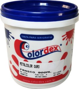 Tinta Metalcolor Colordex Cores - 900 ml